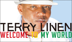 TERRY LINEN / WELCOME TO MY WORLD