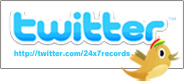 24*7 RECORDS TWITTER